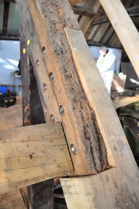 Tudor Roof Splice